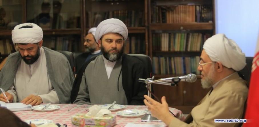 دیدار رئیس سازمان تبلیغات اسلامی با آیت الله محسن اراکی