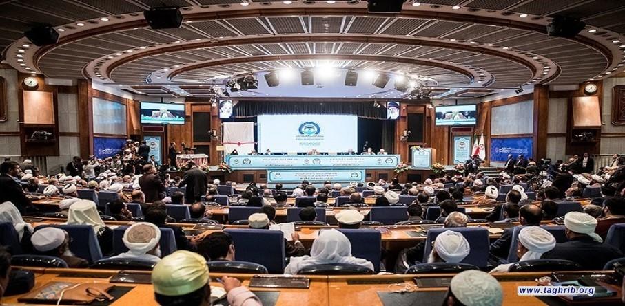 قضية فلسطين مدخل الأمة لوحدتها ، في مؤتمر الوحدة الإسلامية - طهران