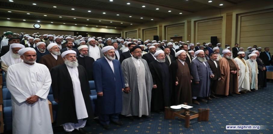 روحانی: الشعب الایرانی بكل مكوناته ومذاهبه هم اصحاب البلاد والثورة