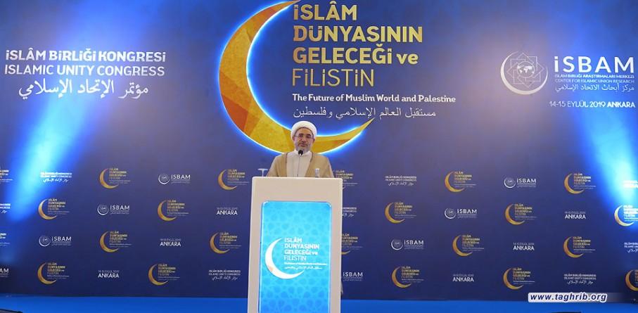 آية الله الأراكي : هوية الأمة الإسلامية في خطر/ فلسطين والمسجد الأقصى ملك للأمة الإسلامية + صور