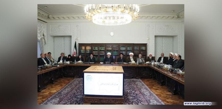الرئيس روحاني: مسيرة الاربعين تحولت الى ملحمة رائعة ورمز للوحدة والتلاحم