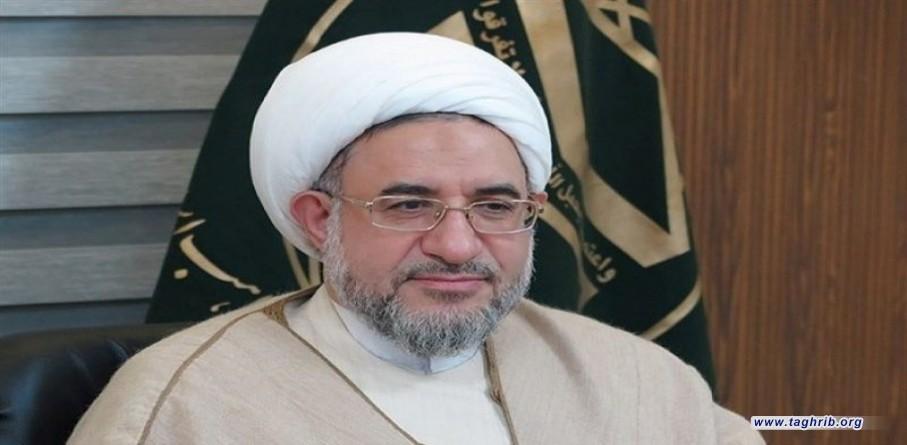 """""""المسجد الاقصى يعبر عن مركز الاسلام والمثل الاعلى لجمع كلمة المسلمين"""""""