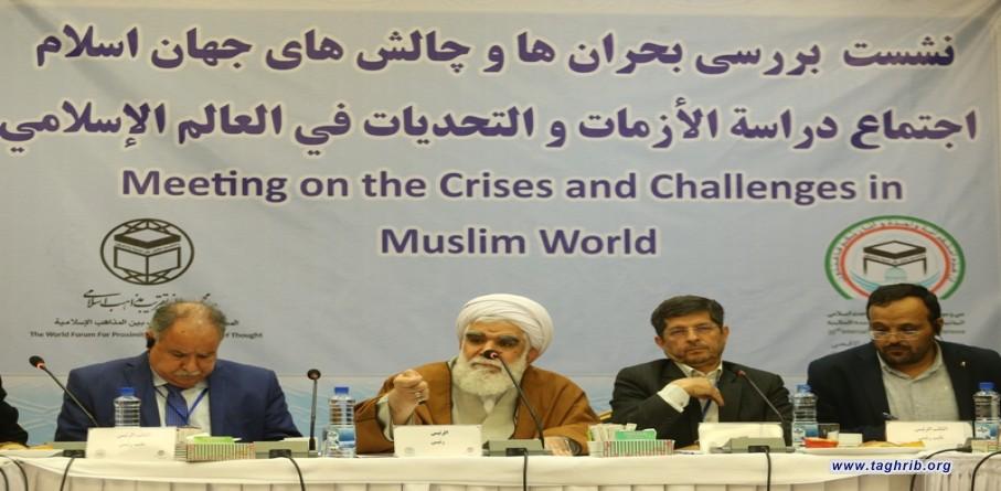 """لجنة """"دراسة الأزمات والتحديات في العالممر الدول الاسلامي"""" تبحث الوضع في البلدان الاسلامية"""