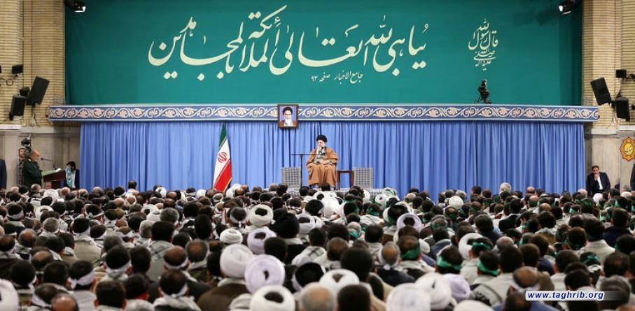 الشعب الإيراني أثبت عظمته مرة أخرى وأحبط مؤامرة خطيرة