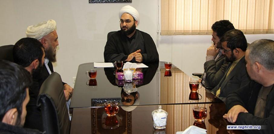 بازدید جمعی از مبلغین و اساتید دانشگاه های افغانستان از مرکز گفتگوی مذاهب اسلامی