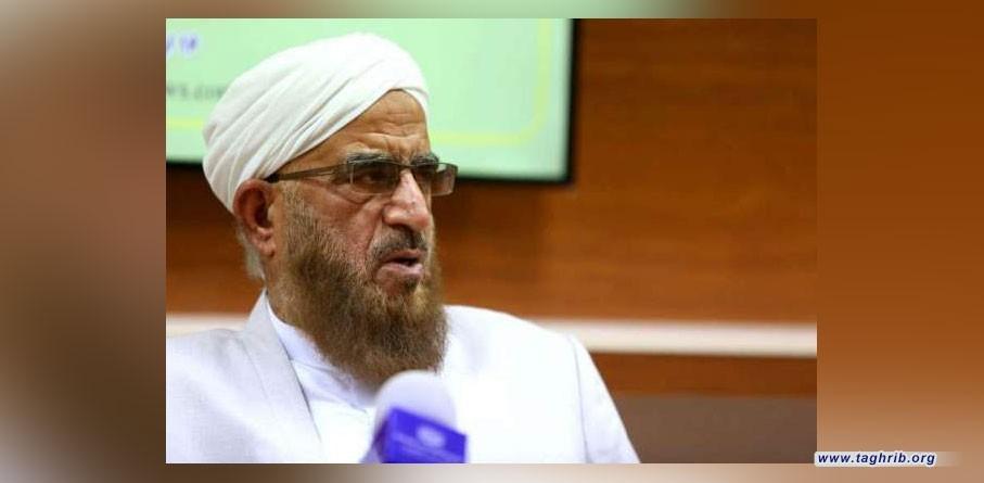 زعيم سني بارز يثني على جهود حرس الثورة الإسلامية في مساعدة أهل السنة