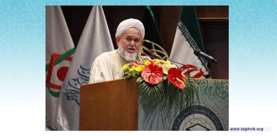 مسلمانان جهان نباید به دنبال اختلافات مذهبی باشند/با تمسک به قرآن و عترت، هیچ فتنه ای نمی تواند جلودار مسلمانان شود