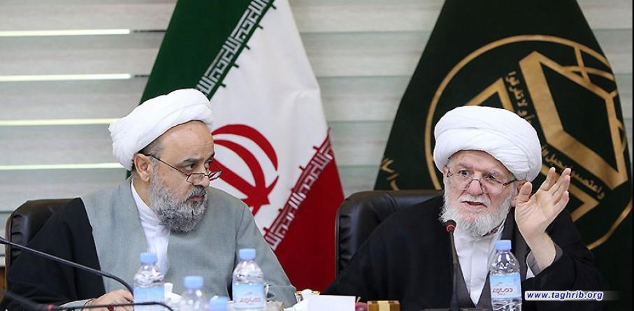 """حجة الاسلام و المسلمين الدكتور """"حميد شهرياري"""" ينعي الفقيد اية الله التسخيري"""