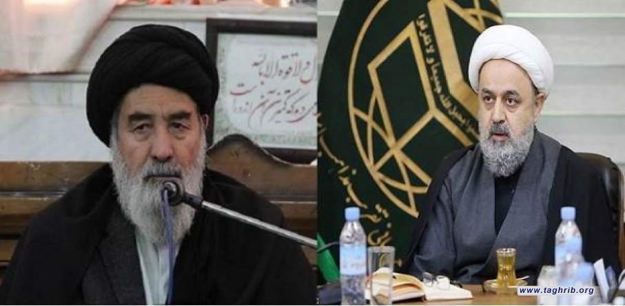 الأمين العام للمجمع العالمي للتقريب بين المذاهب الإسلامية يتصل بمدير مؤسسة النبي الأعظم (ص) الثقافية