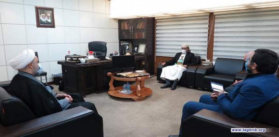 السفير اليمني يلتقي الأمين العام للمجمع العالمي للتقريب بين المذاهب الإسلامية