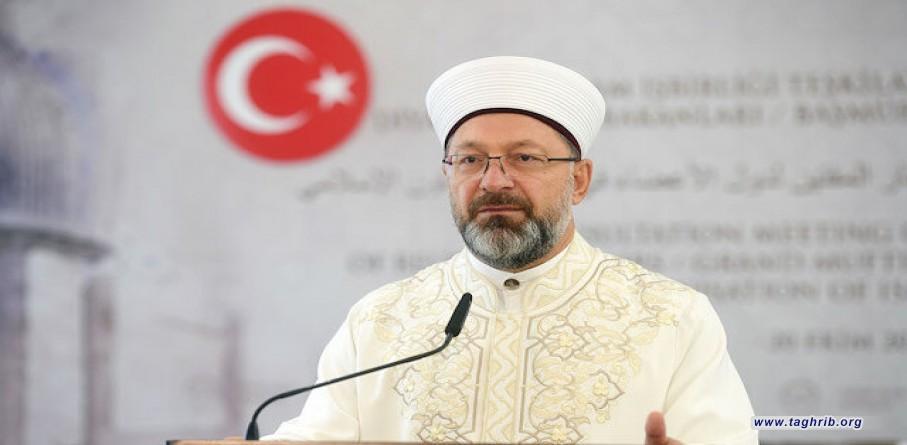 البروفسور أرباش يدعو العالم الإسلامي إلى التعاون والتكاتف فيما بينها لمكافحة الإسلاموفوبيا