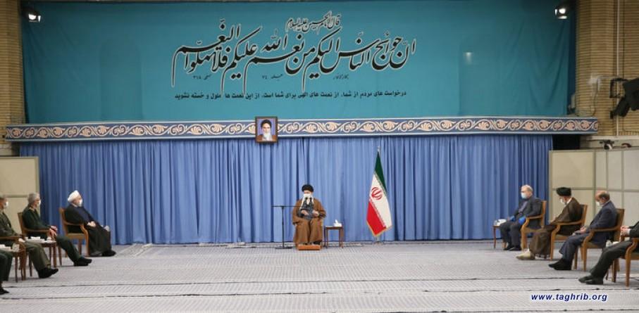 رهبر معظم انقلاب اسلامی در دیدار اعضای ستاد ملی مقابله با کرونا مطرح کردند | لزوم اتخاذ تصمیمهای قاطع اقناع افکار عمومی و همکاری همگانی