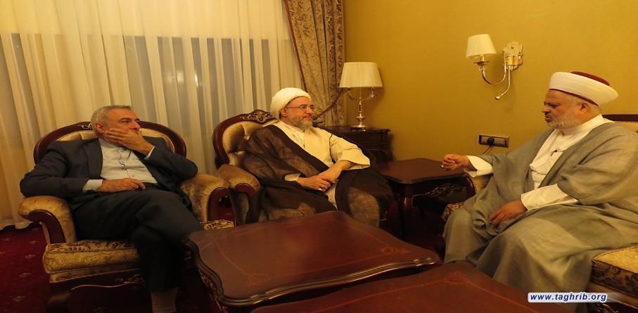 """على هامش مؤتمر """"الإتحاد الإسلامي: مستقبل العالم الإسلامي وفلسطين"""" في العاصمة التركية أنقرة"""