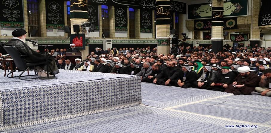 دیدار جمعی از موکبداران عراقی با رهبر معظم انقلاب اسلامی