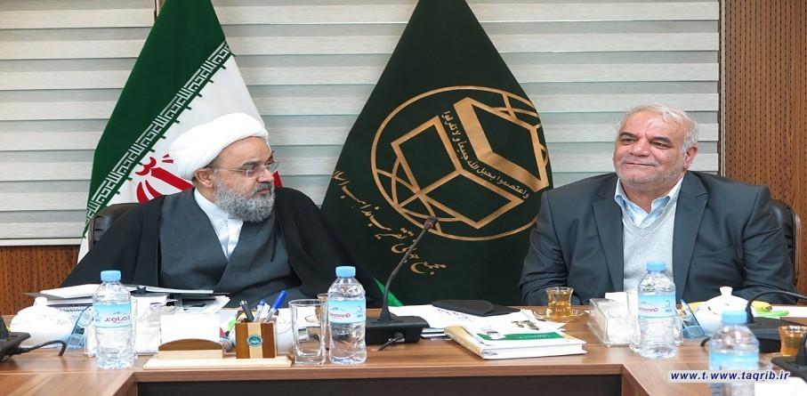 الأمين العام يستقبل رئيس جامعة (بيام نور)