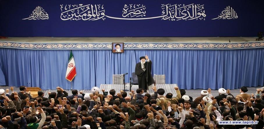 لقاء مختلف أطياف الشّعب الإيراني بالإمام الخامنئي