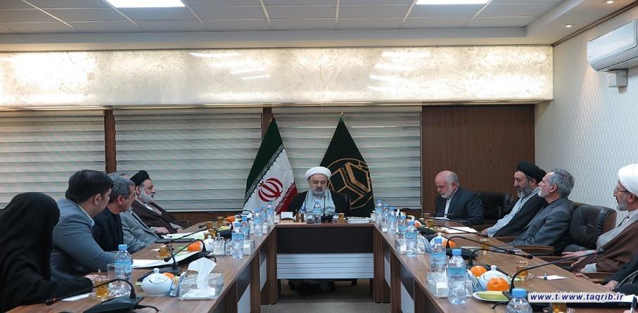 اجتماع شورى معاونين مجمع التقريب مع الأمين العام