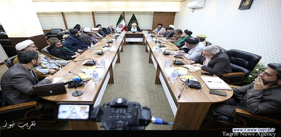 دیدار دبیر کل مجلس وحدت مسلمین پاکستان با دبیر کل مجمع تقریب