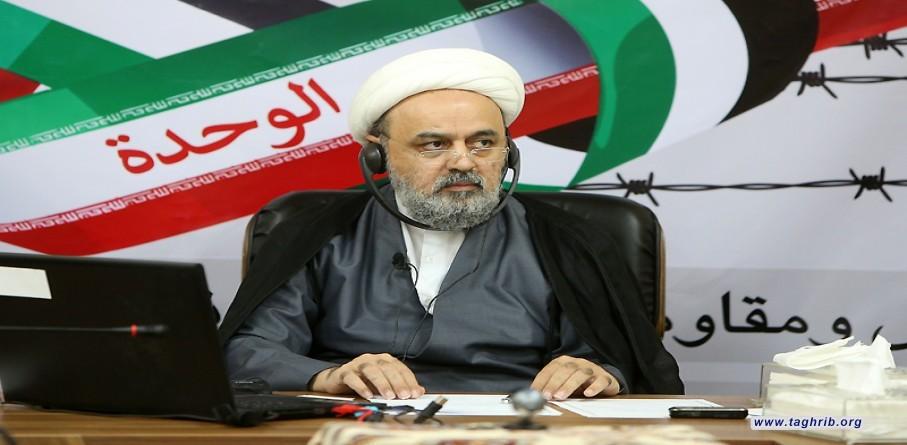 """كلمة الأمين العام الدكتور حميد شهرياري في ملتقى بعنوان """"القدس والمقاومة"""""""