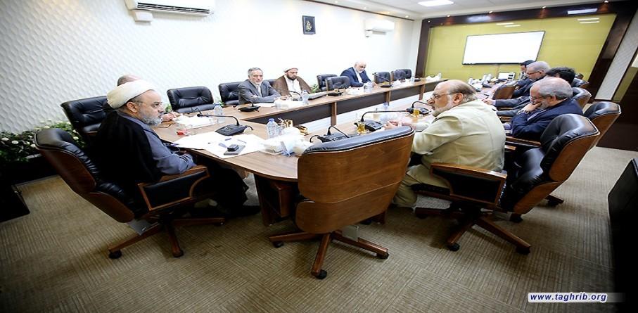 الأمين العام الدكتور شهرياري يجتمع مع اتحاد خيري العالم الاسلامي