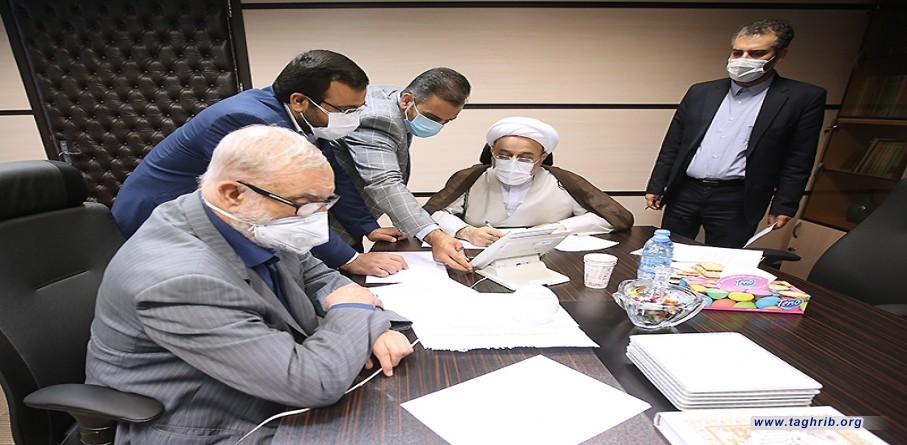 """حجة الاسلام و المسلمين الدكتور """"حميد شهرياري"""" يتصل هاتفياً مع علماء اهل السنة في العراق"""