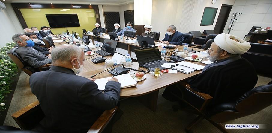 """حجة الاسلام و المسلمين الدكتور """"حميد شهرياري"""" يلتقي مجلس معاونين المحمع"""