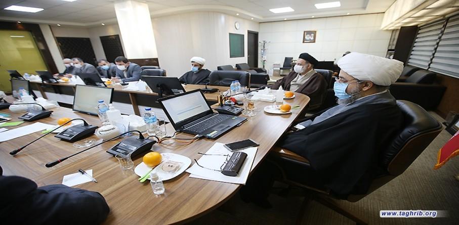 """حجة الاسلام و المسلمين الدكتور """"حميد شهرياري يشارك في مجلس معاونين المجمع"""