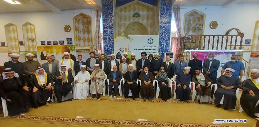 الدكتور شهرياري يشارك في الاجتماع السنوي الثاني لاعضاء المجمع العالمي للتقريب في العراق