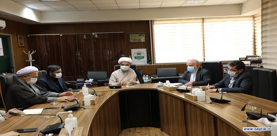 الدكتور شهرياري يشارك في الاجتماع العاشر للجنة المركزية للمؤتمر الدولي الـ35 للوحدة الإسلامیة